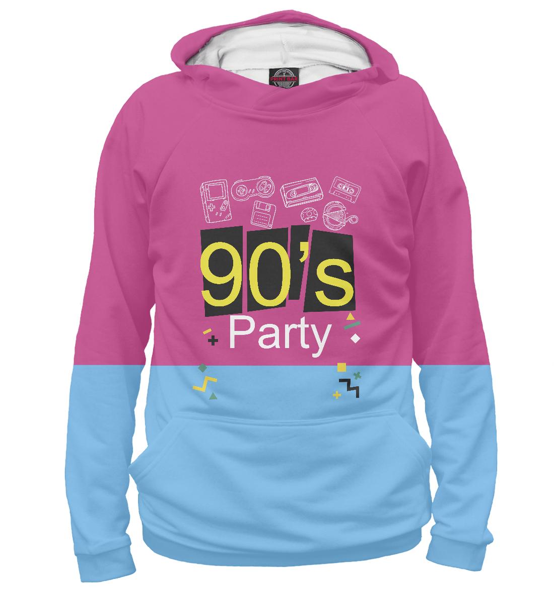 Купить 90's Party Назад в девяностые, Printbar, Худи, APD-556411-hud-2