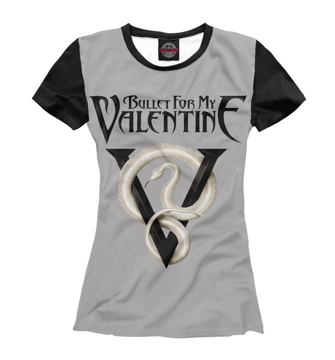 Купить Bullet for My Valentine Venom, Printbar, Футболки, BMV-399029-fut-1