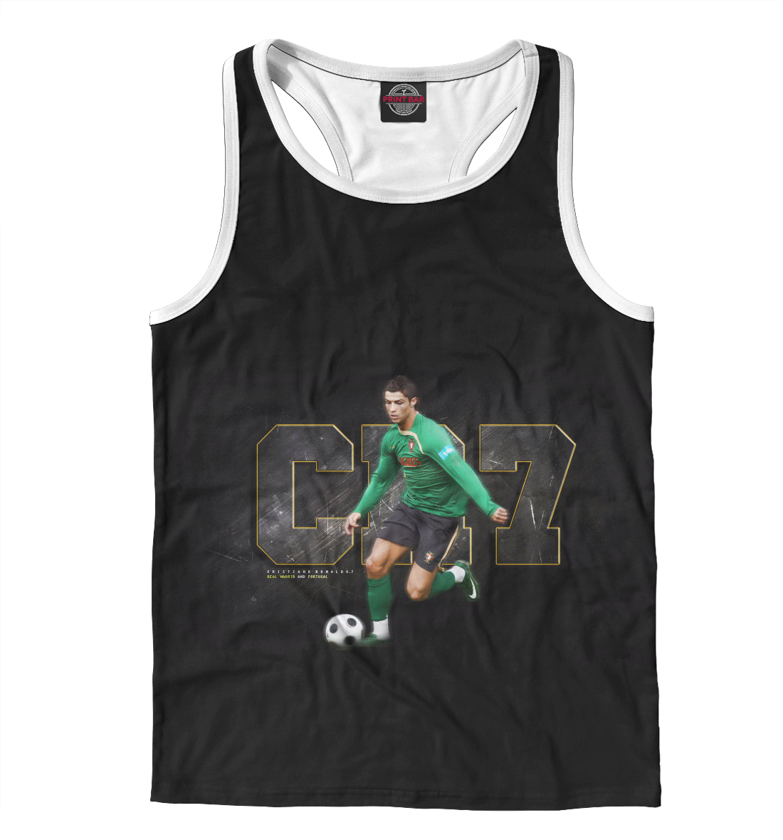 Купить Cristiano Ronaldo, Printbar, Майки борцовки, REA-775763-mayb-2