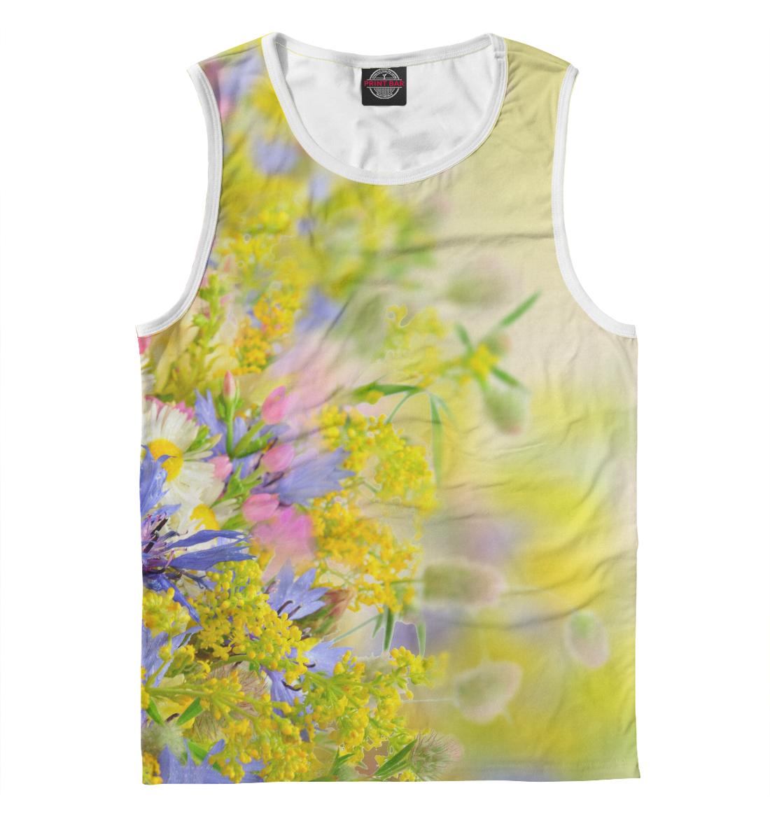 Купить Цветочки, Printbar, Майки, CVE-406827-may-2