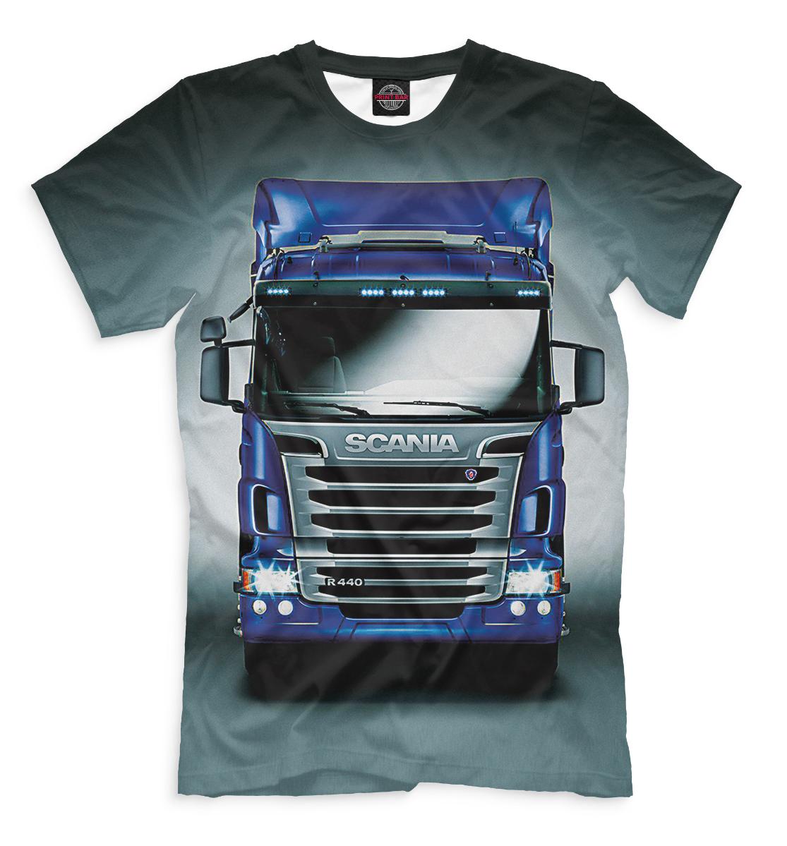 Купить Scania, Printbar, Футболки, GRZ-595161-fut-2