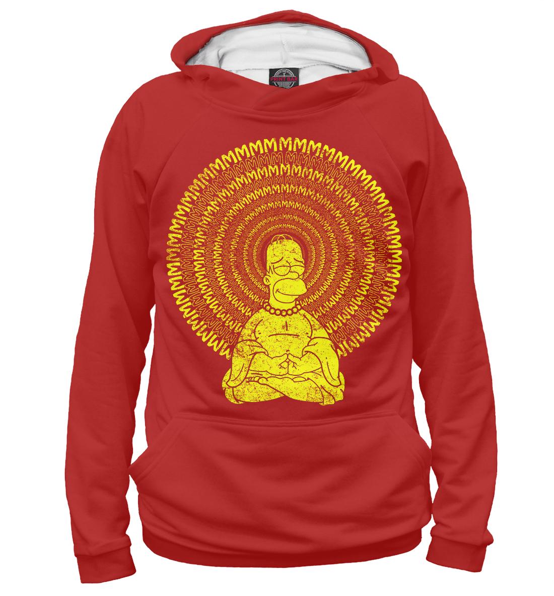 Купить Гомер Буддизм, Printbar, Худи, SIM-615510-hud-2