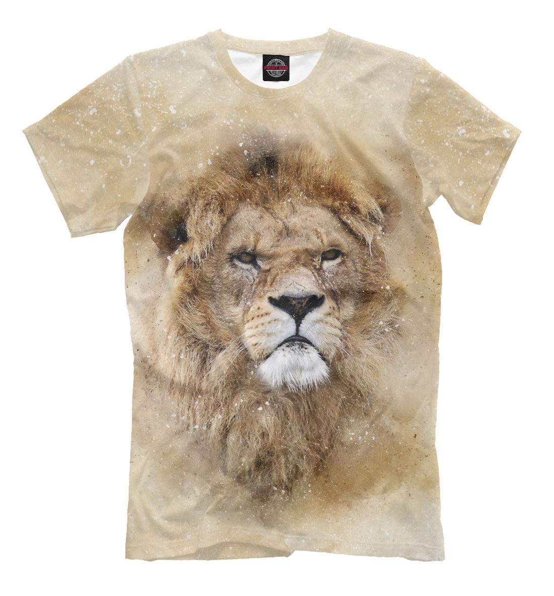 Купить Lion, Printbar, Футболки, HIS-183055-fut-2