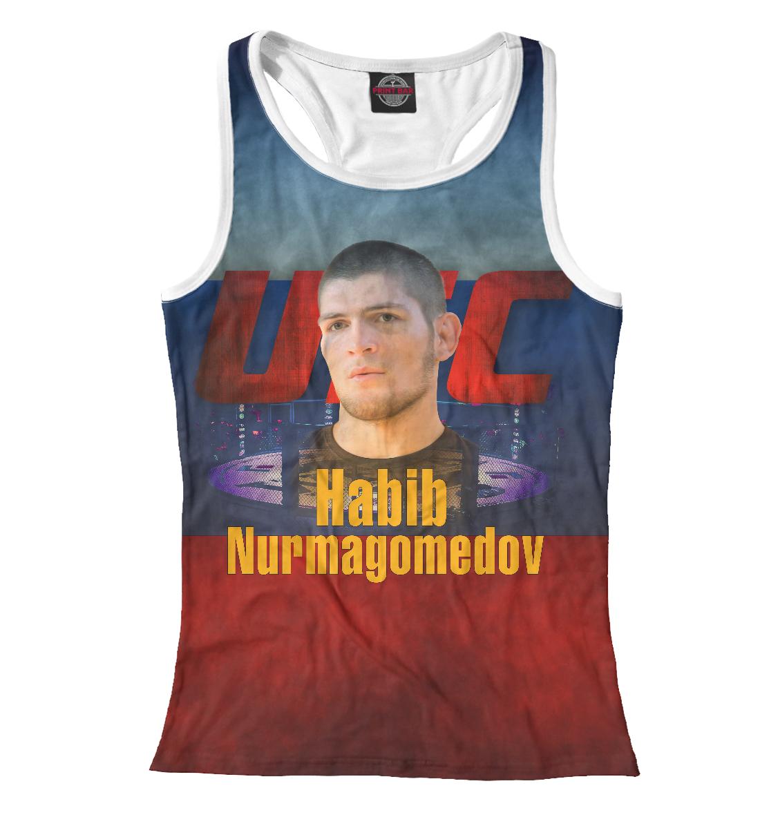 Купить Хабиб Нурмагомедов UFC, Printbar, Майки борцовки, MNU-305307-mayb-1