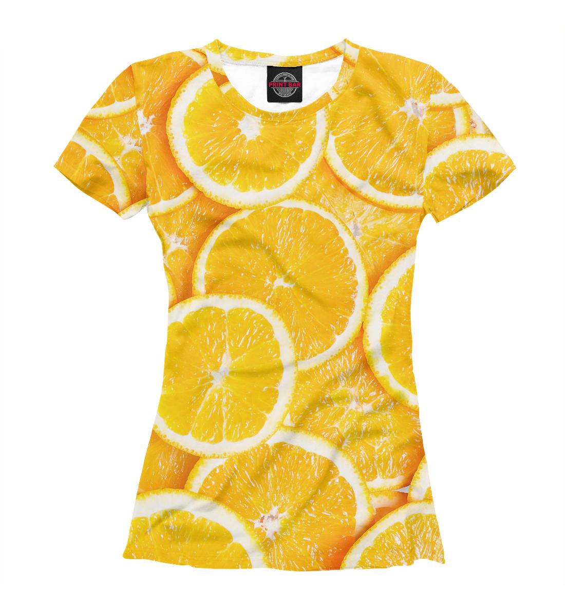 Апельсины, Printbar, Футболки, EDA-545605-fut-1  - купить со скидкой