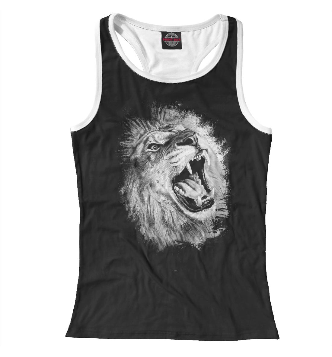 Лев Lion, Printbar, Майки борцовки, LEV-405693-mayb-1  - купить со скидкой