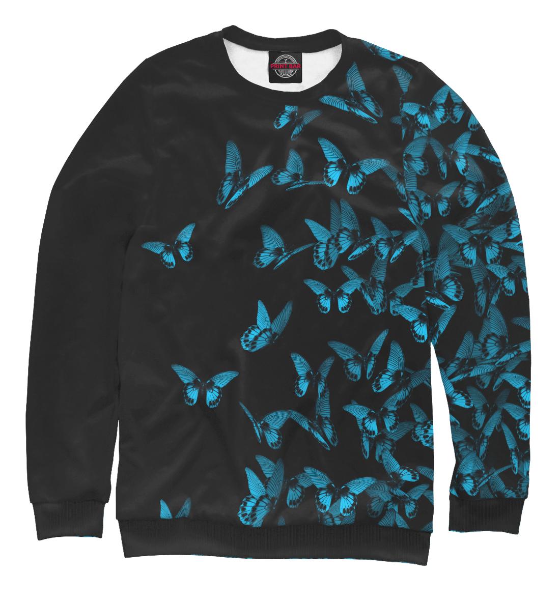 Купить Синие бабочки, Printbar, Свитшоты, NAS-356841-swi-1