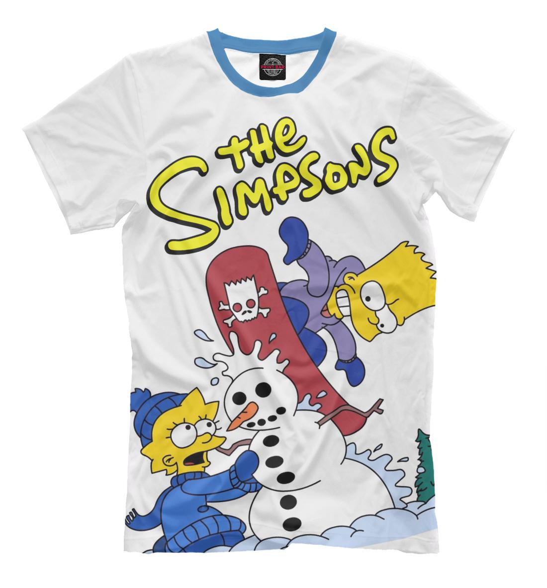 Купить Симпсоны, Printbar, Футболки, SIM-815992-fut-2