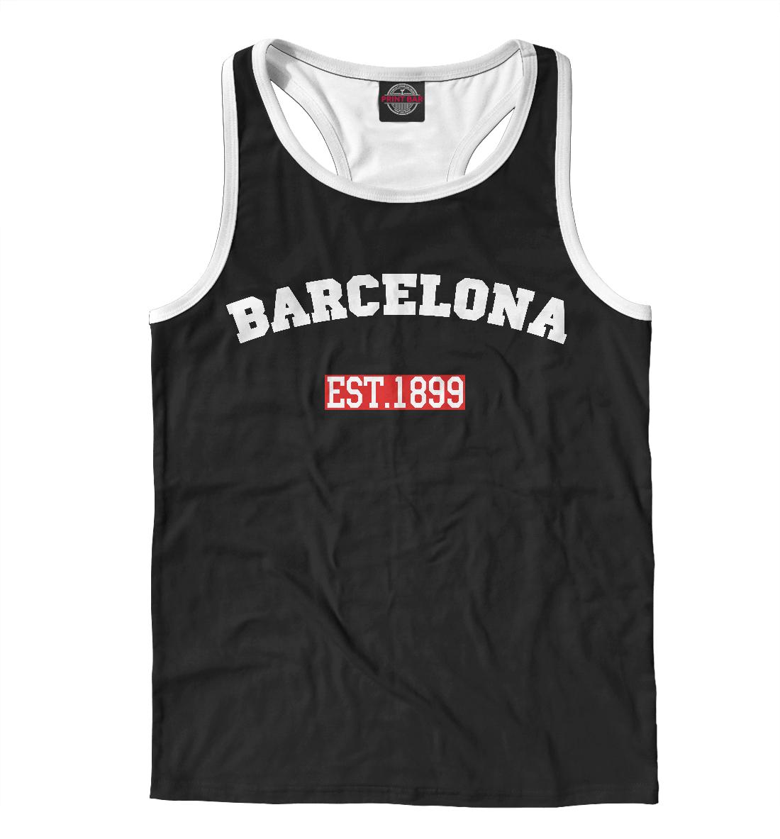 Купить FC Barcelona Est.1899, Printbar, Майки борцовки, BAR-111735-mayb-2