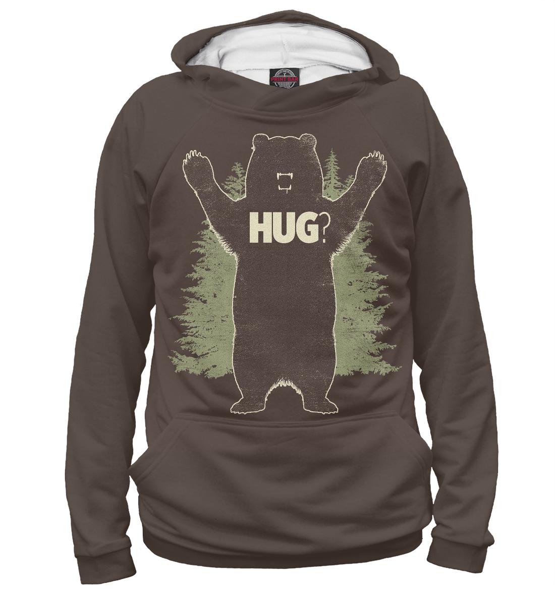 Медведь, Printbar, Худи, MED-354159-hud-2  - купить со скидкой
