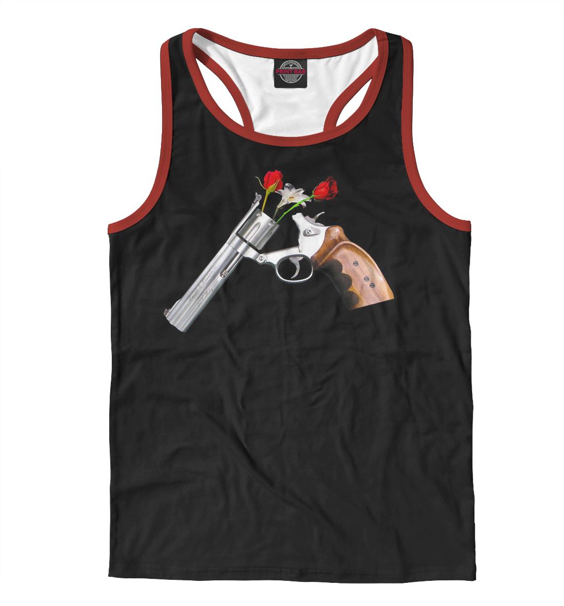 Купить Guns and Roses, Printbar, Майки борцовки, GNR-710936-mayb-2