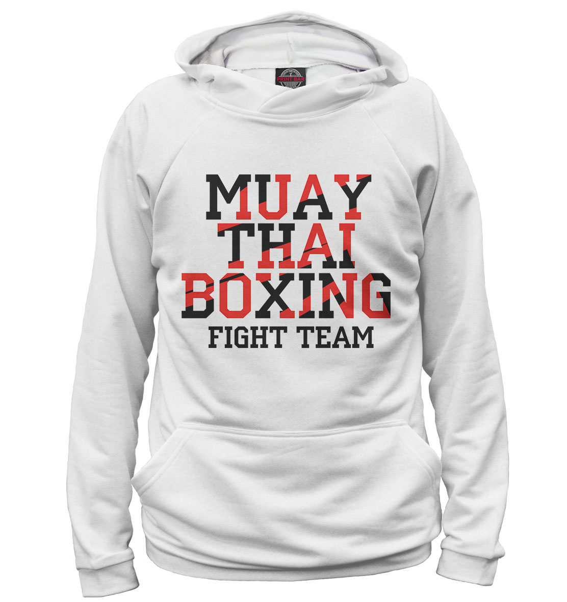 Купить Muay Thai Boxing, Printbar, Худи, EDI-186662-hud-1