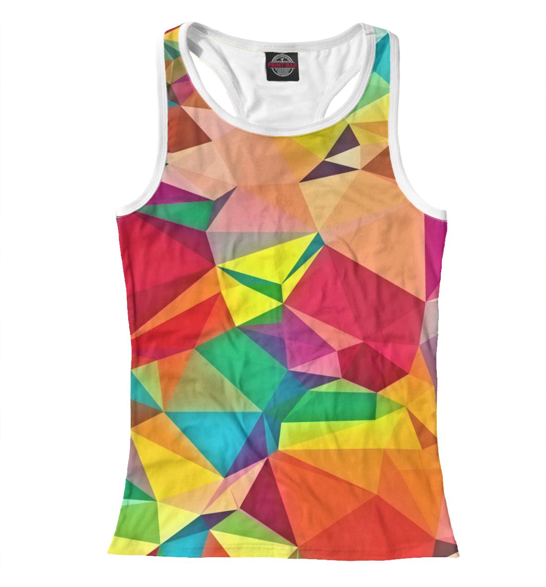 Купить Цветная абстракция, Printbar, Майки борцовки, ABS-277635-mayb-1