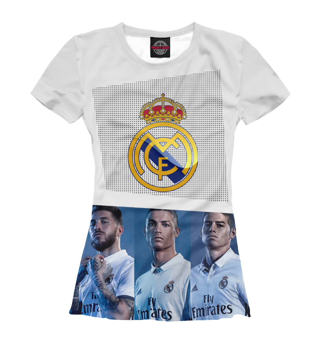 Купить Real Madrid Collection, Printbar, Футболки, REA-908933-fut-1