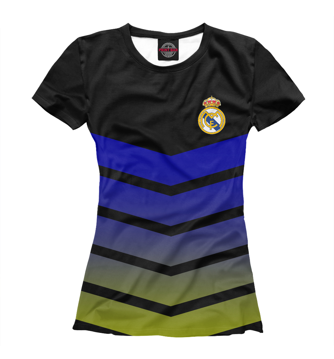 Купить Real Madrid Abstract, Printbar, Футболки, REA-464787-fut-1