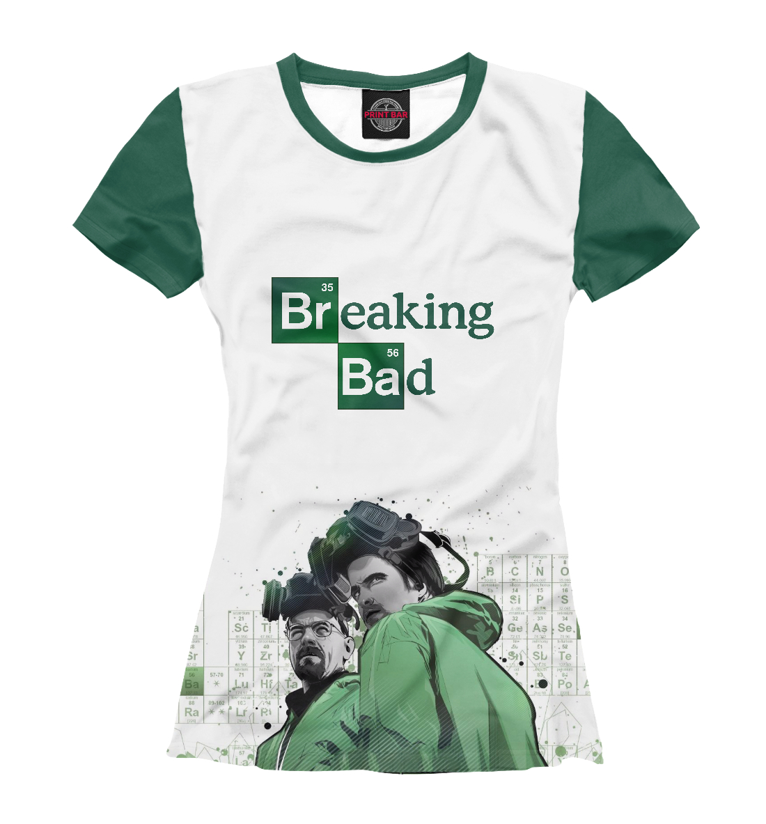 Купить Breaking bad, Printbar, Футболки, VVT-652044-fut-1