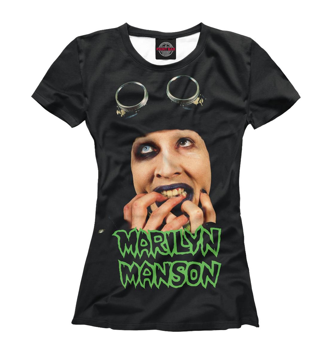 Купить Marilyn Manson, Printbar, Футболки, MRM-231556-fut-1