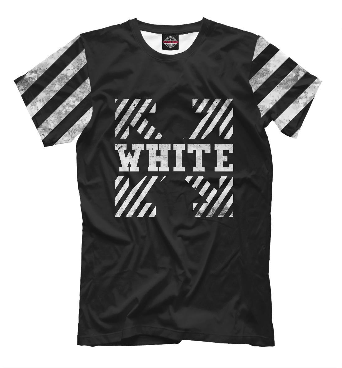 Купить Off-White Grunge Cross, Printbar, Футболки, APD-618976-fut-2