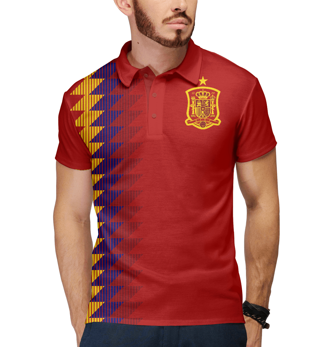 Купить Испания, Printbar, Поло, FNS-588333-pol-2