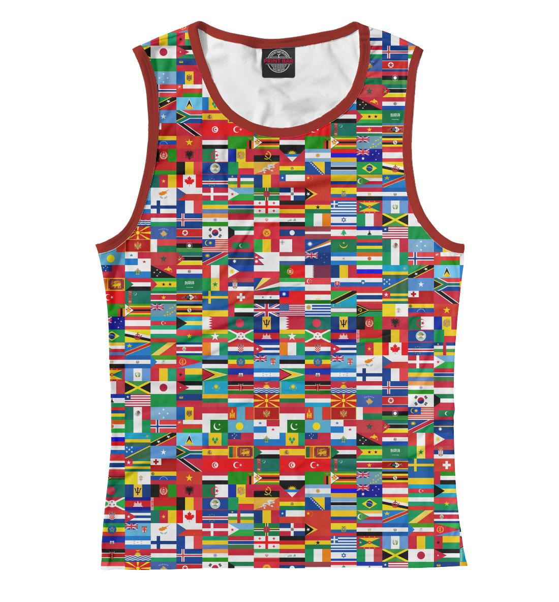 Купить Флаги мира, Printbar, Майки, HIP-570419-may-1