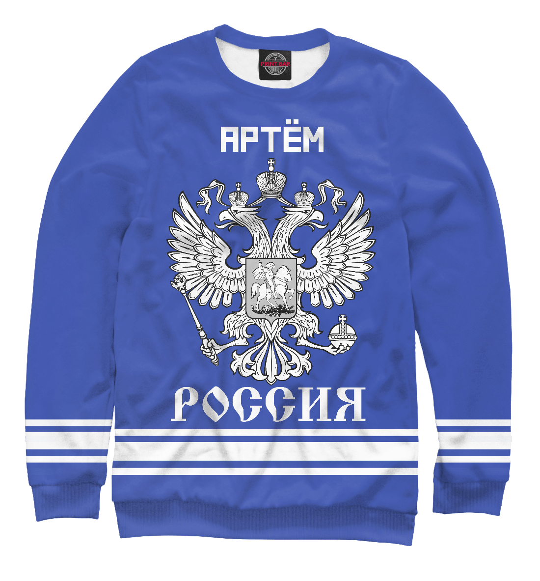 Купить АРТЕМ sport russia collection, Printbar, Свитшоты, ATM-450591-swi-1