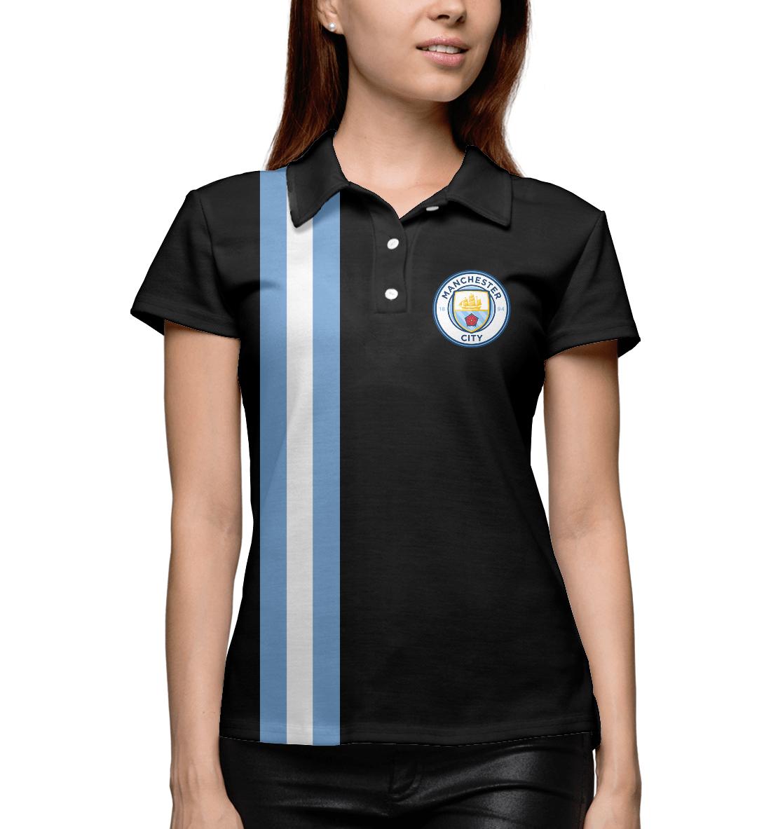 Купить Manchester City Line Collection, Printbar, Поло, MNC-900517-pol-1