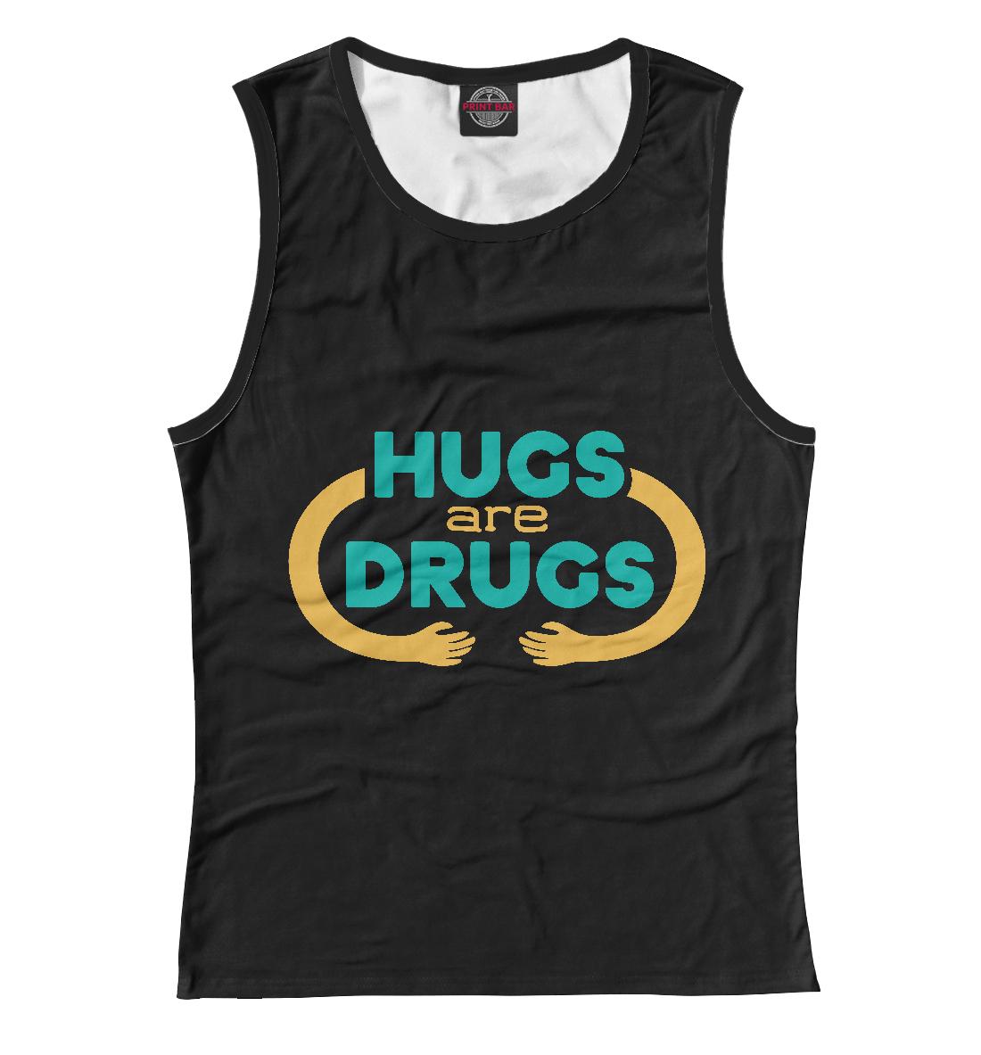 Купить Обнимашки это наркотик, Printbar, Майки, NDP-126842-may-1