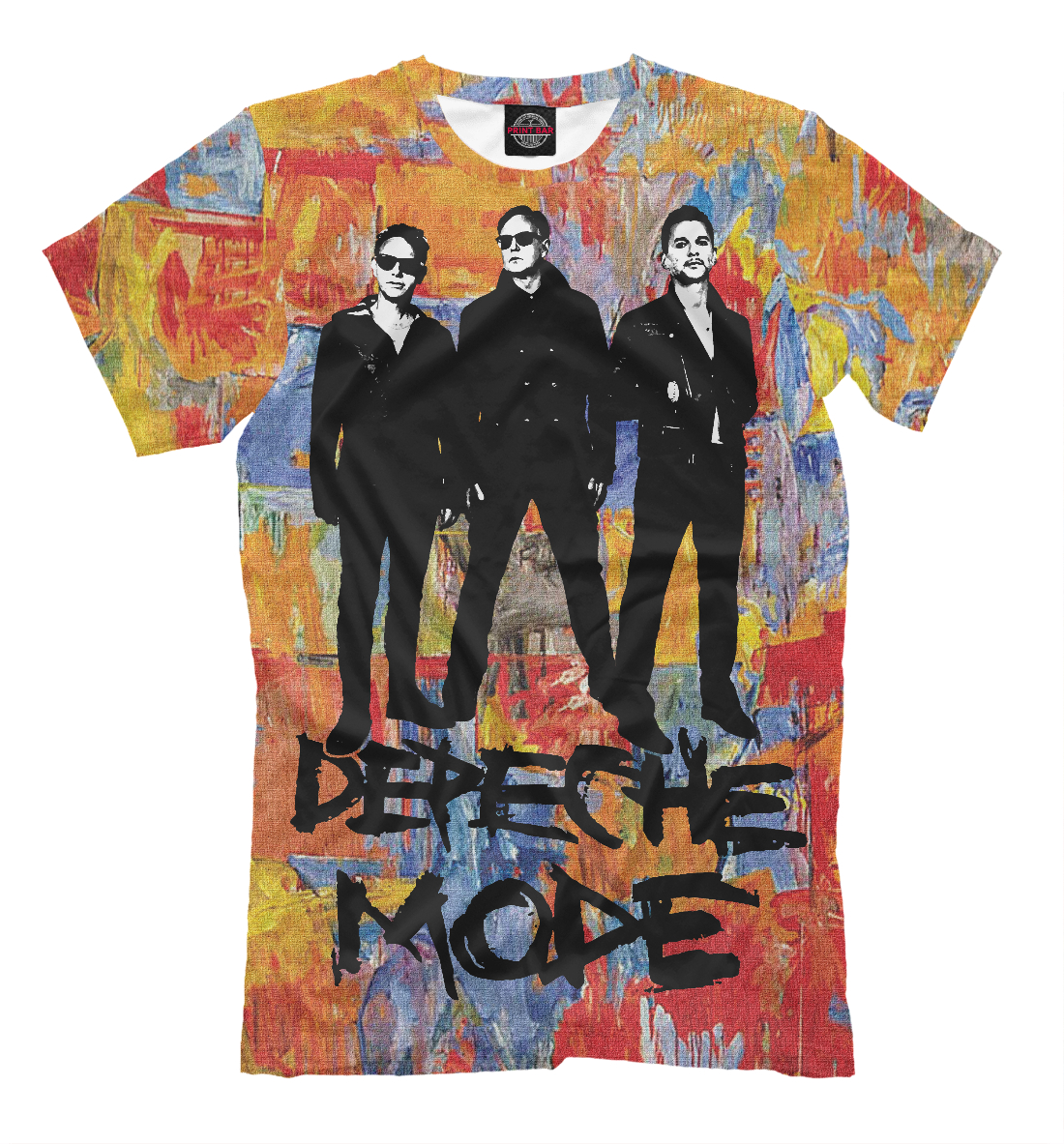 Купить Depeche Mode, Printbar, Футболки, CLR-264116-fut-2