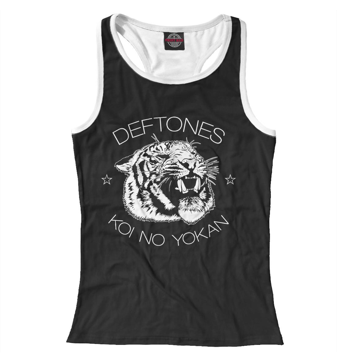 Купить Deftones, Printbar, Майки борцовки, MZK-703142-mayb-1