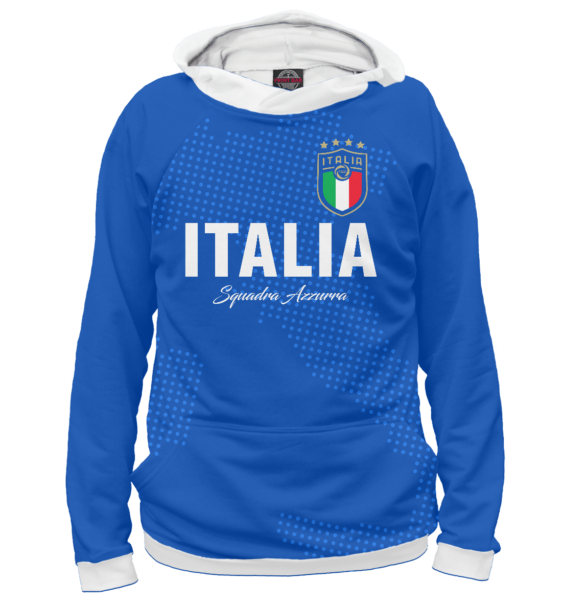 Купить Италия, Printbar, Худи, FNS-186686-hud-2