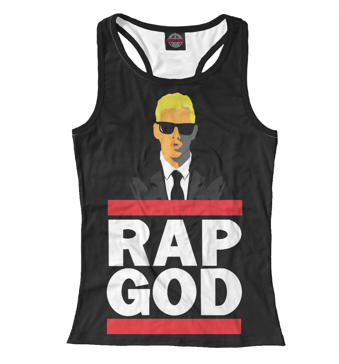 Купить Eminem Rap God, Printbar, Майки борцовки, EMI-491268-mayb-1