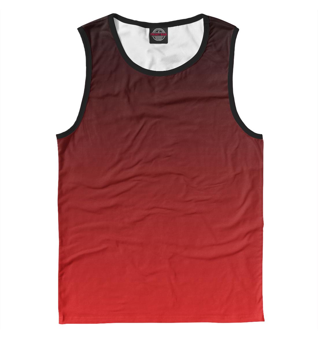 Купить Градиент Красный в Черный, Printbar, Майки, CLR-933713-may-2