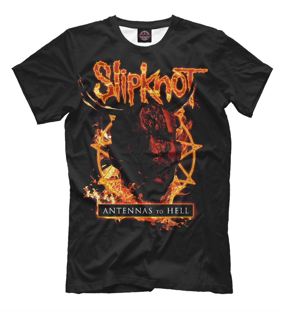 Купить Slipknot, Printbar, Футболки, SLI-632435-fut-2