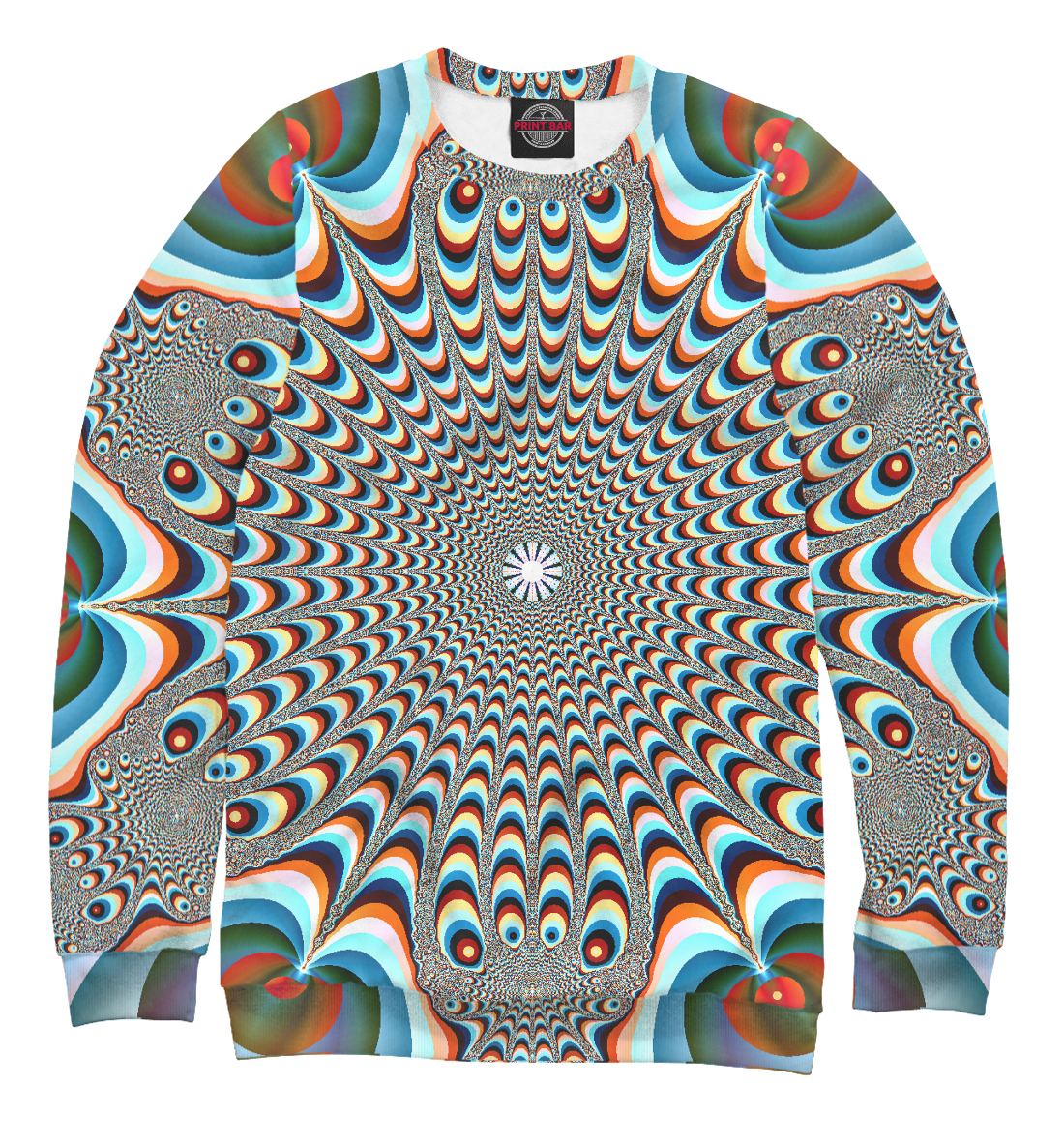 Купить Оптическая иллюзия, Printbar, Свитшоты, PSY-326674-swi-2