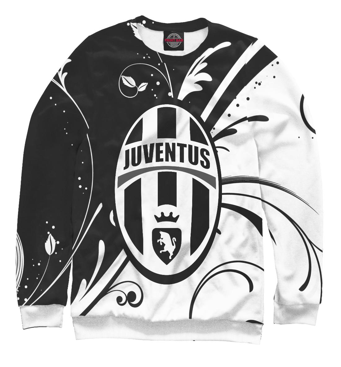 Купить FC Juventus Black&White Pattern, Printbar, Свитшоты, JUV-549166-swi-2