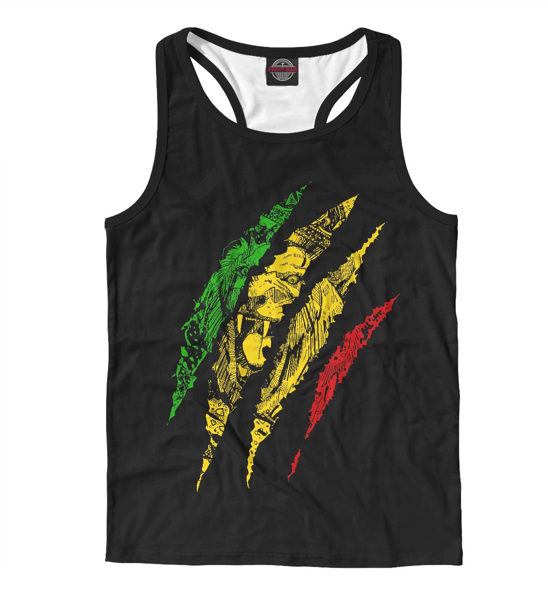 Jamaica Lion, Printbar, Майки борцовки, HIS-240342-mayb-2  - купить со скидкой