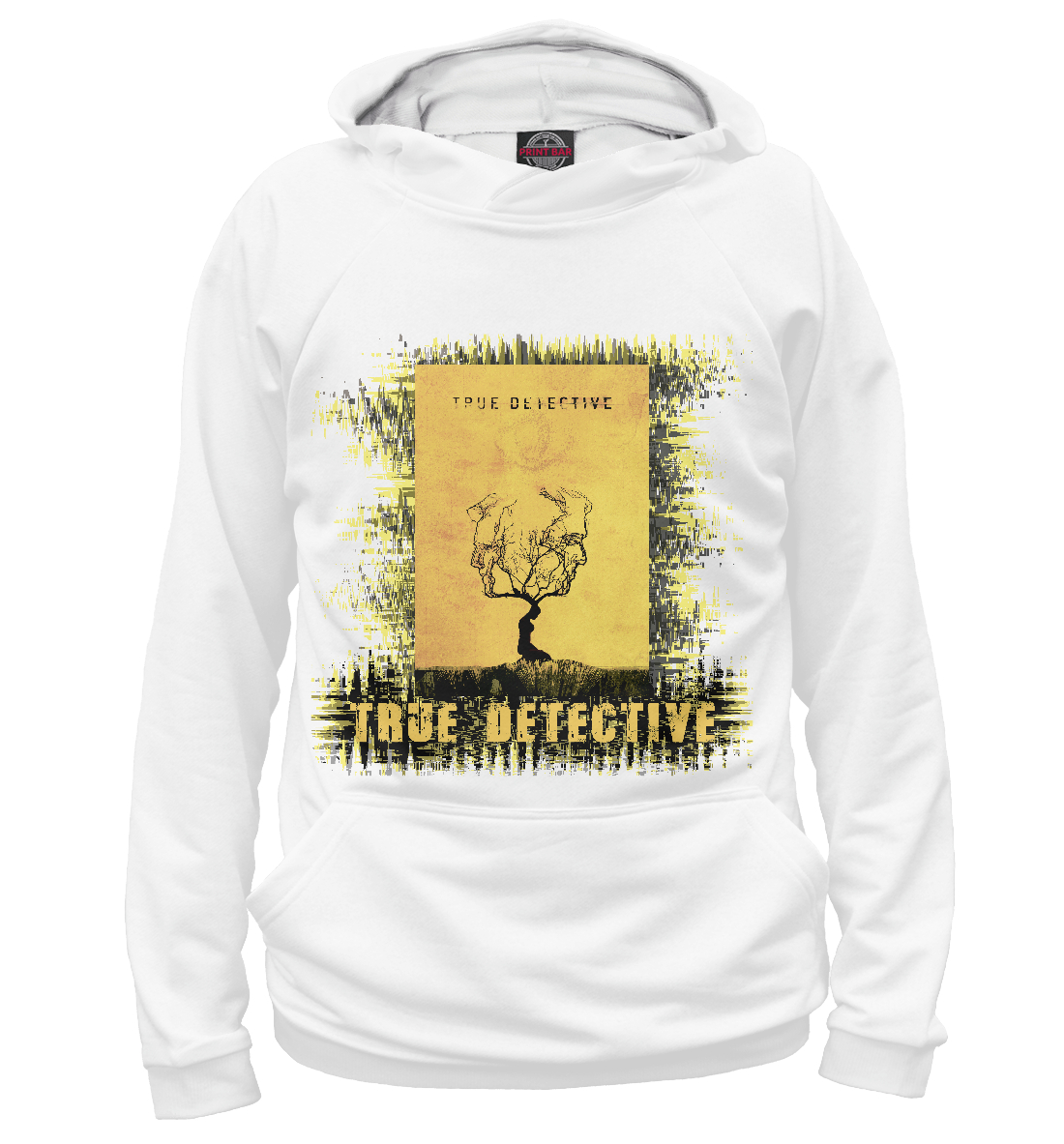 Купить True detective (yellow theme), Printbar, Худи, NAS-404569-hud-1