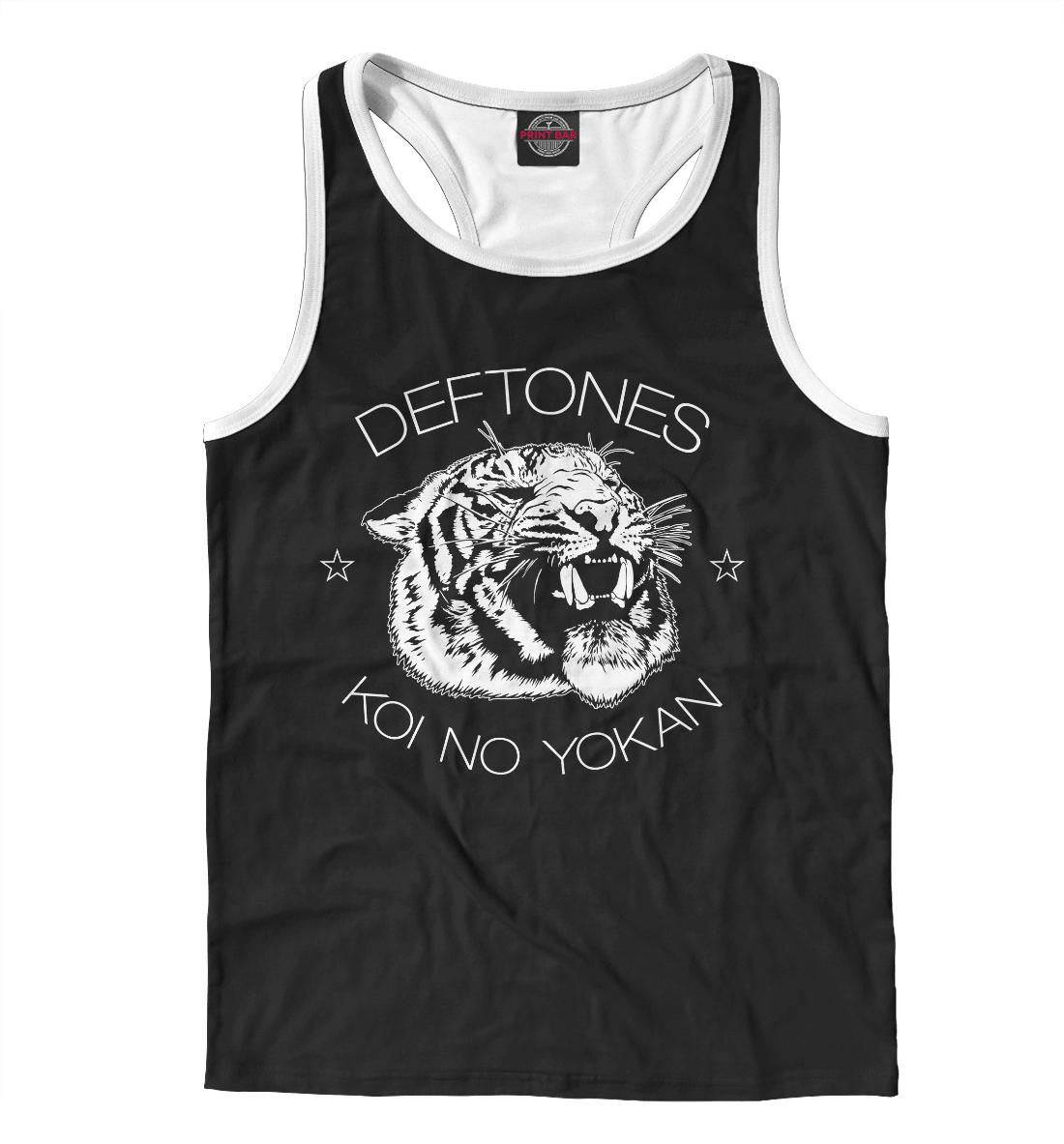 Купить Deftones, Printbar, Майки борцовки, MZK-703142-mayb-2