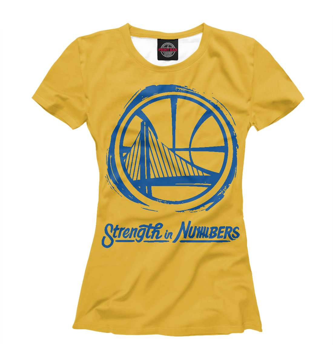 Купить Golden State Warriors, Printbar, Футболки, NBA-827353-fut-1