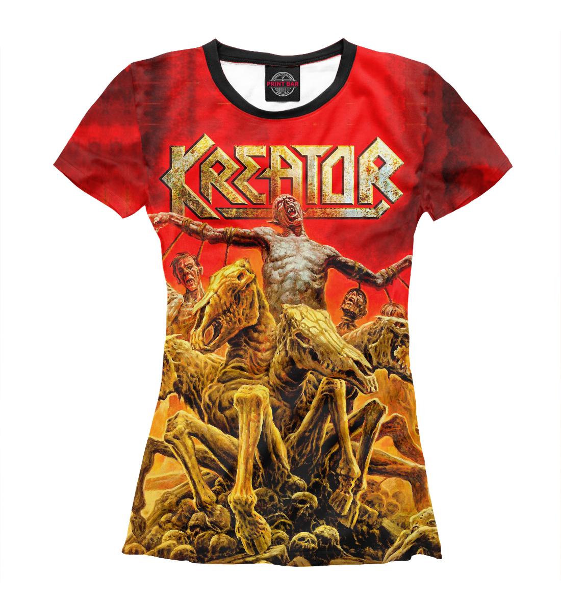 Купить Kreator, Printbar, Футболки, KRE-543118-fut-1