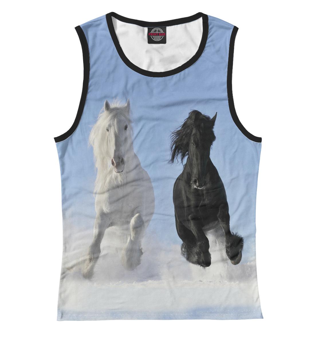Пара лошадей, Printbar, Майки, LOS-105787-may-1  - купить со скидкой