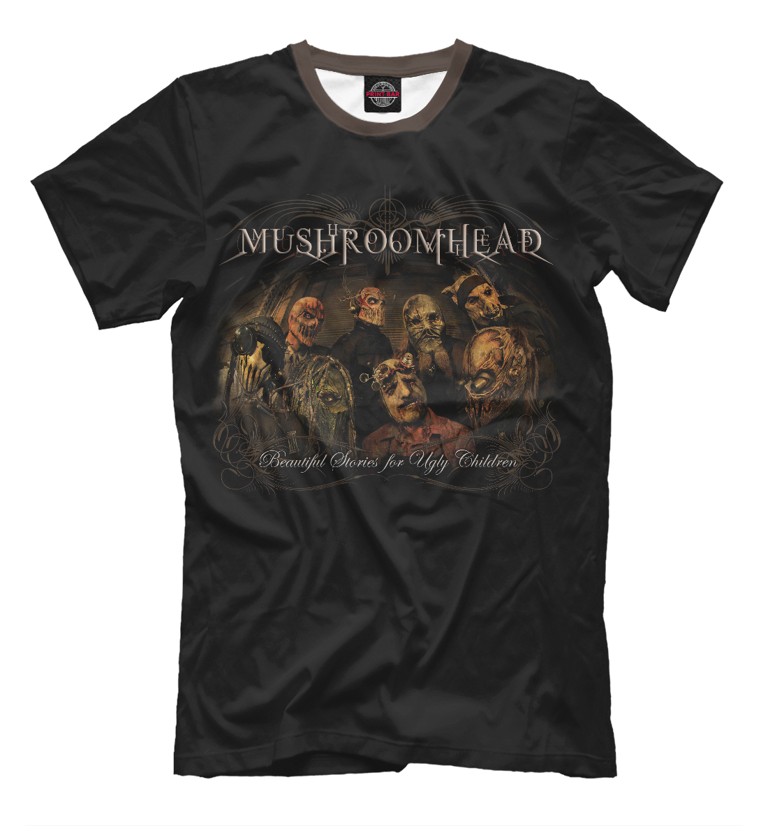 Купить Mushroomhead, Printbar, Футболки, MZK-151499-fut-2