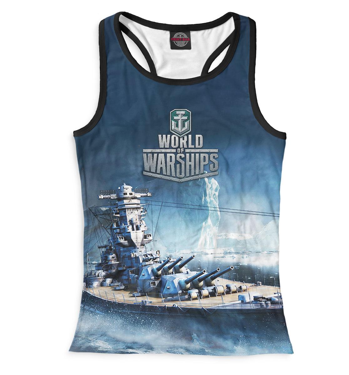 Купить World of Warships, Printbar, Майки борцовки, WOS-967739-mayb-1