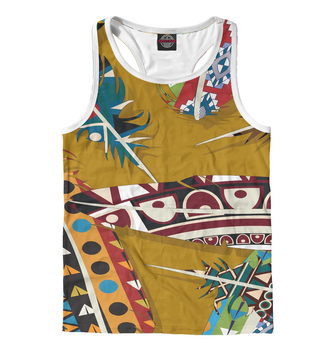 Купить Африканский стиль, Printbar, Майки борцовки, BCH-268265-mayb-2