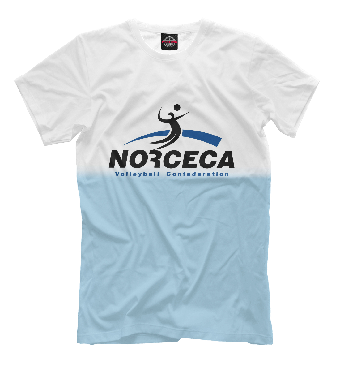 Купить Norceca volleyball confederation, Printbar, Футболки, VLB-281557-fut-2