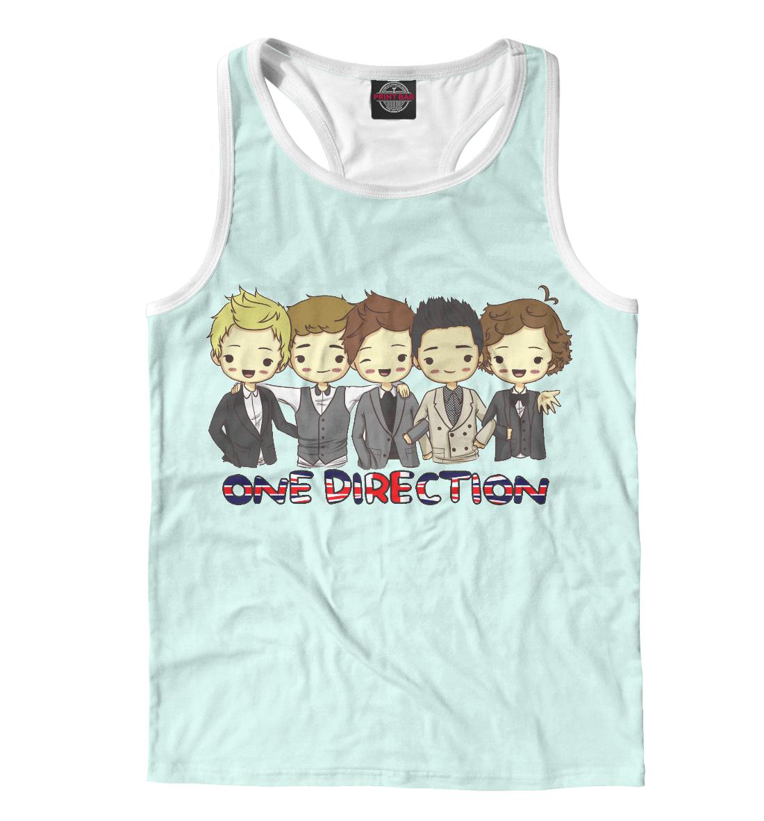 Купить One Direction, Printbar, Майки борцовки, OND-456603-mayb-2