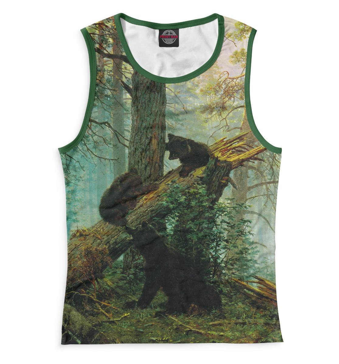 Купить Утро в сосновом лесу, Printbar, Майки, GHI-471282-may-1