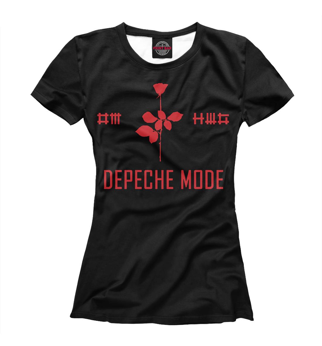 Купить Depeche Mode, Printbar, Футболки, DPM-875116-fut-1
