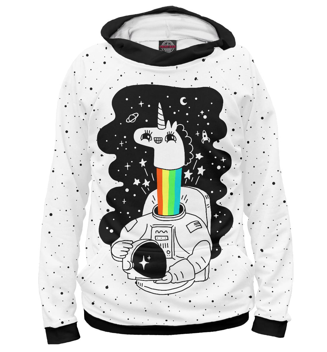 Купить Единорог астронавт, Printbar, Худи, HIP-494966-hud-2