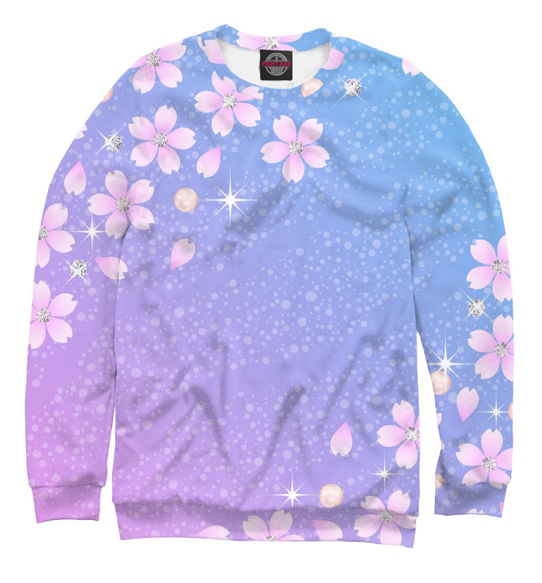 Купить Цветы и звёзды, Printbar, Свитшоты, CVE-454056-swi-1